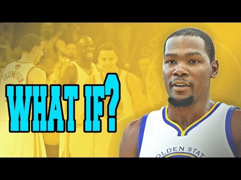 WHAT IF KEVIN DURANT SIGNED WITH THE GOLDEN STATE WARRIORS???