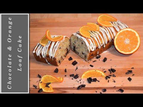 The best Chocolate & Orange Loaf Cake recipe - delicious!
