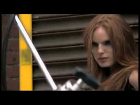 Rita Hazan at the Vogue Brazil photo shoot.flv