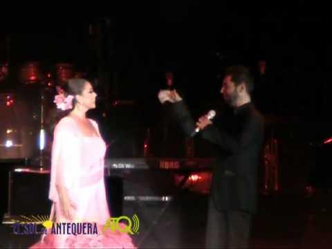 Concierto de Isabel Pantoja y Miguel Poveda en Antequera