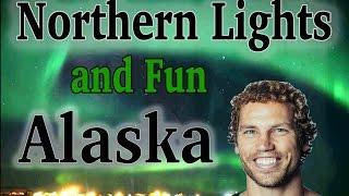 Island Ninja In Alaska: Northern Lights