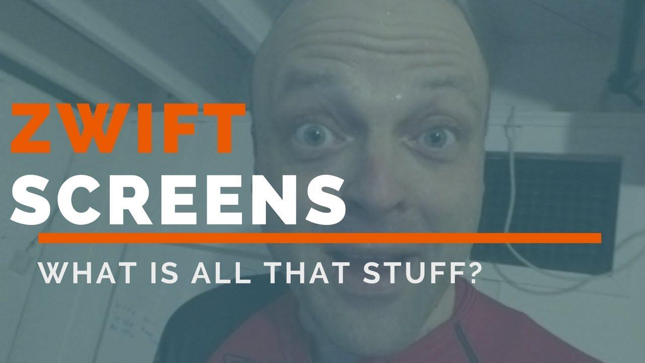 Understanding Zwift   Zwift Screen Icons for Beginners