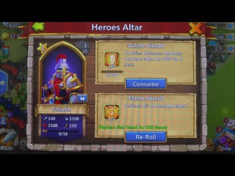 Castle Clash - Quickly Increase Experience Of Your Hero
