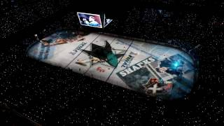 Sharks 2016 playoff ice projection