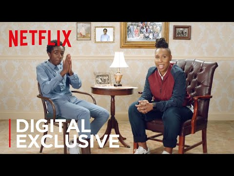 Digital Exclusive  Did We Just Become Best Friends: Caleb McLaughlin x Lena Waithe  Netflix