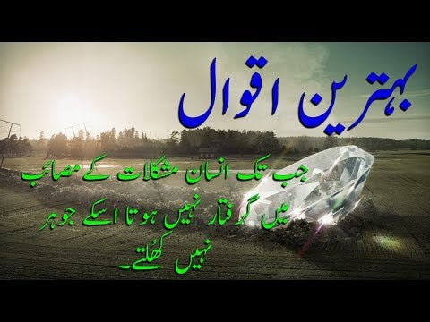 Emotional Quotes | Emotional Poetry In Urdu | Urdu Quotes On Zindagi | By Golden Wordz