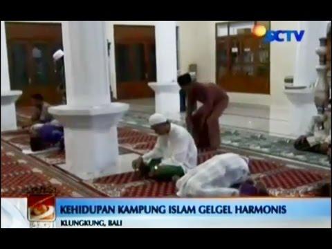 Indahnya Toleransi Kampung Islam Gelgel Tertua di Bali   NEWS on Vidio