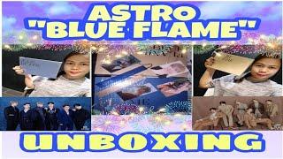 "Unboxing ASTRO 6th Mini Album ""Blue Flame"" (Both Versions)"