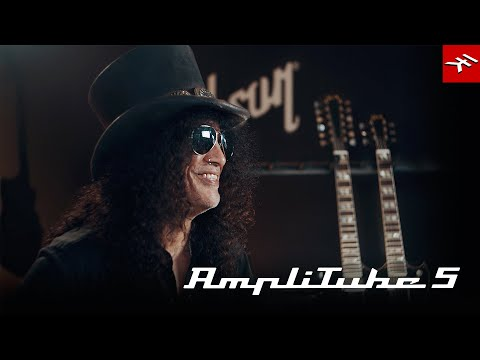 Slash on using AmpliTube 5 and the official Slash gear for writing, demoing, recording