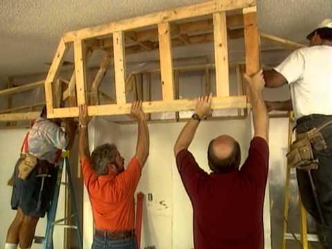 How to Build a Room Partition - Kitchen Remodel Coral Gables, FL - Bob Vila eps.1206