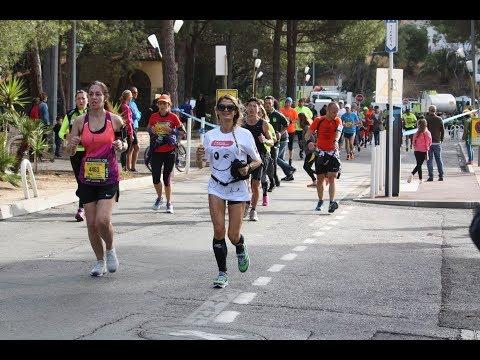 Marathon Nice Cannes 2017 Passage Juan les Pins groupe 4h