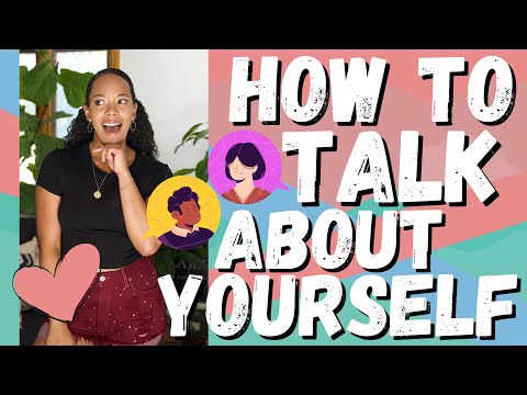 How to Talk About Yourself 2020 [First DATE Advice THAT WORKS]