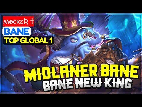 Midlaner Bane, Bane New King [ Top Global 1 Bane ] ʍøcκεƦ † Bane Gameplay And Build