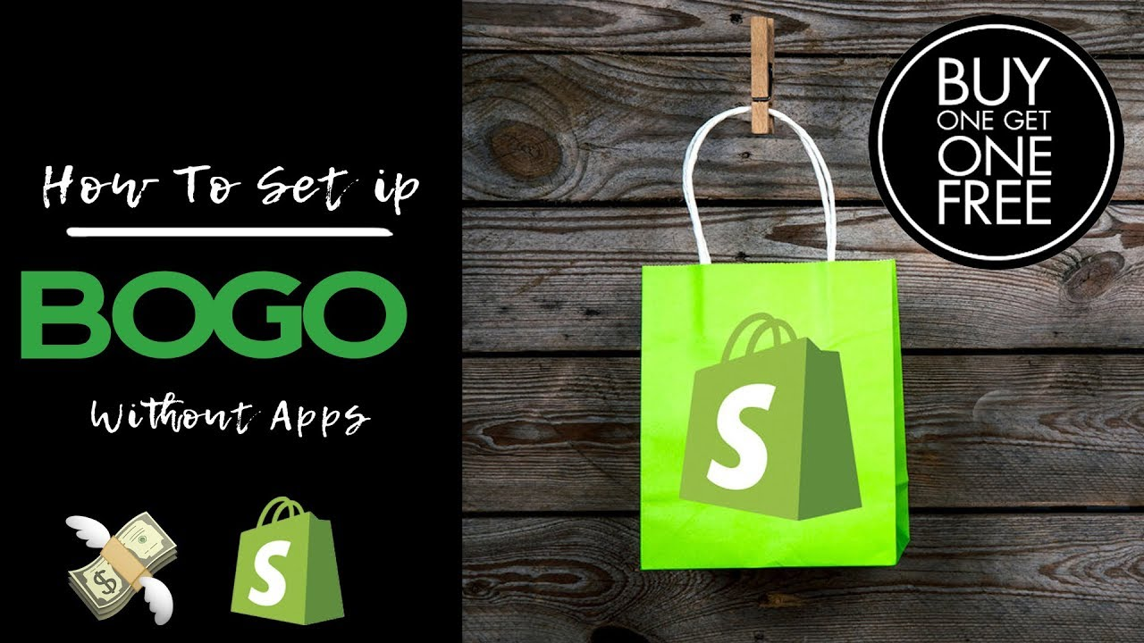 How To Set Up Buy X Get Y For Your Shopify Website FREE (Without Apps)
