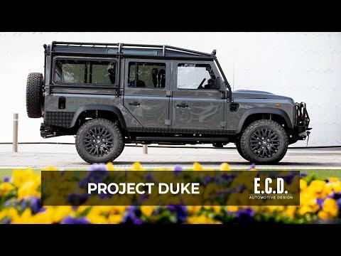 Bonatti Grey Metallic Defender 110 is LS-Powered | Project Duke | D110