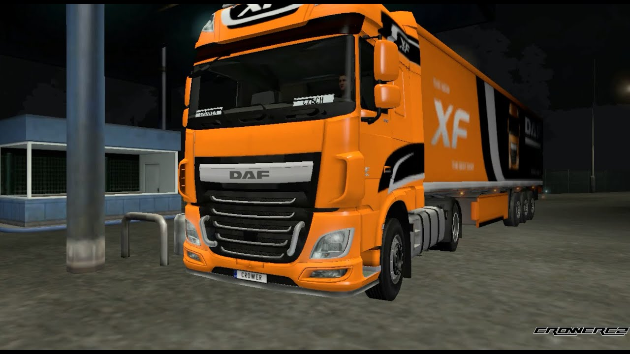euro truck simulator 2 daf xf euro 6 limited edition. Black Bedroom Furniture Sets. Home Design Ideas