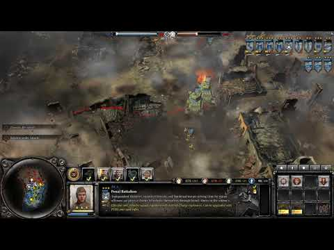 Company of Heroes 2 - 2v3 CPU expert (halfway recorded)