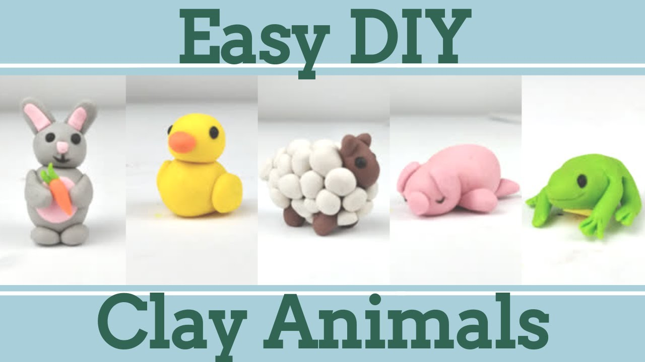 polymer clay tutorial Tutorial funny Animals Sculpture PDF DIY craft tutorial sculpture tutorial step by step tutorial instruction