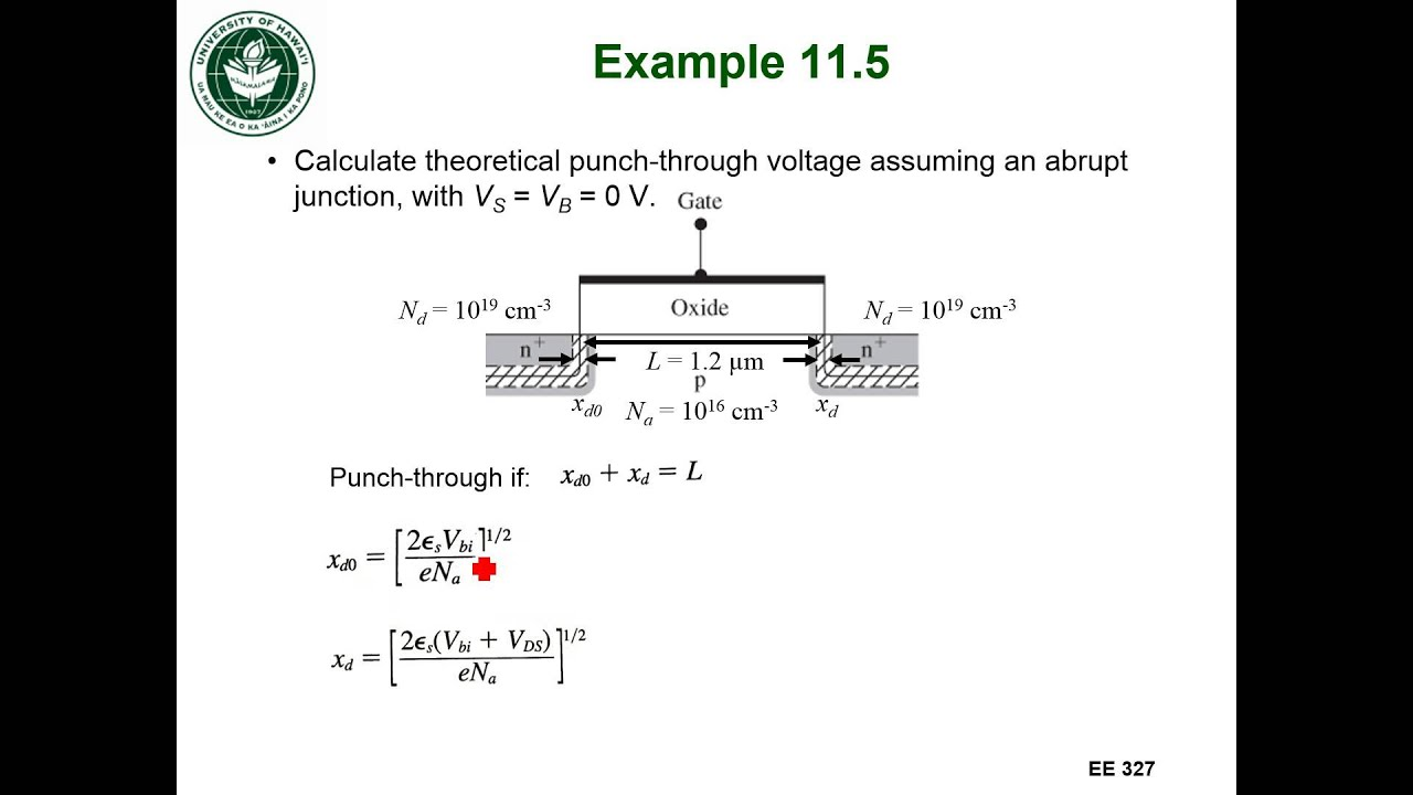 EE327 Lec 31i - Punch-through example