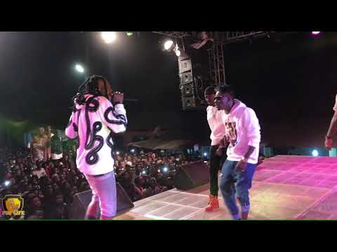 Shatta Wale & SM Militants perform 'Forgetti' at Abetifi