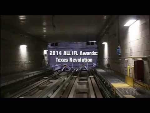 2014 Texas Revolution All-IFL Awards