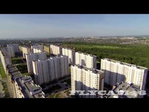 Аэросъемка домов КПД по пр. Победы г.Курск