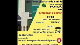 CULTO DE DOMINDO  - 09-05-2021