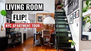 Living Room Makeover + NYC Apartment Tour