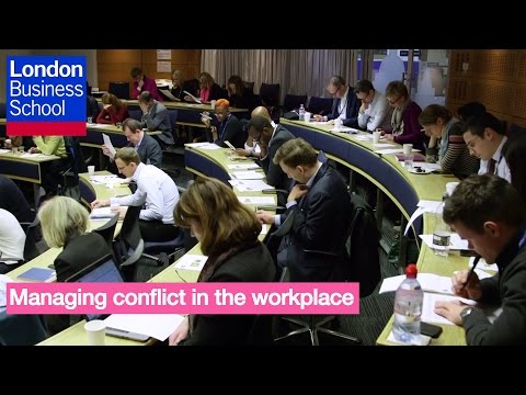 A Day of Executive Education - Randall Peterson, Managing conflict in the workplace