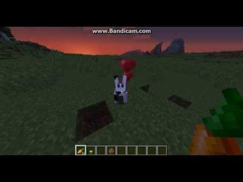 Как в майнкрафте сделати рогу з кролика