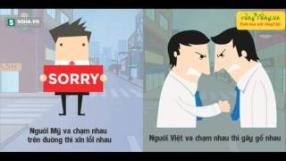 Sự khác nhau thú vị giữa người Việt và người Mỹ
