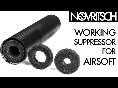 Effective Airsoft Suppressor by NOVRITSCH