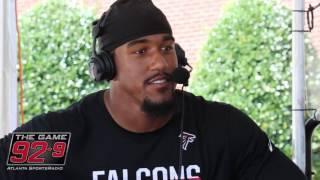 Atlanta Falcons DE Vic Beasley Says