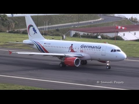 A319 Germania (Gambia Bird Livery) || Madeira