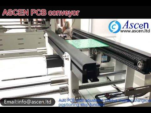 PCB Chain Conveyor|PCB Conveyor|PCB Industrial Conveyor Equipment With Auto Width Adjustment