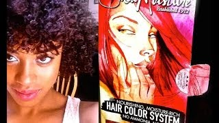 Shea Moisture Hair Color System: BRIGHT AUBURN Review/Demo