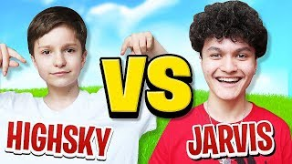 FaZe H1ghSky1 Vs FaZe Jarvis (Fortnite 1v1)