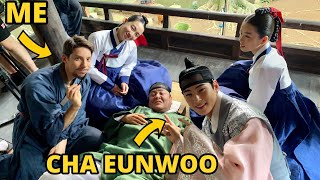 [ROOKIE HISTORIAN] I PLAYED with  CHA EUNWOO in a Korean Drama 🎥🇰🇷  [ENG SUBS]