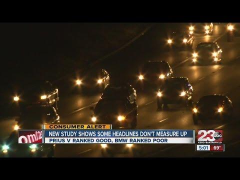 IIHS Study Shows Most Headlights Need Improvement