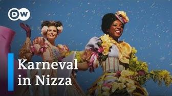 Blumenkorso und Mimosenschlacht beim Karneval in Nizza | Euromaxx