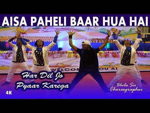 Aisa Pehli Baar Hua Hai | Har Dil Jo Pyar Karega | Bhola Sam & Dance Group