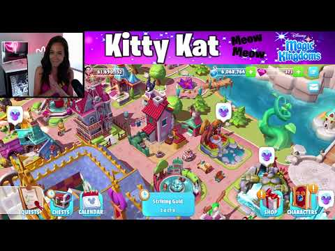 Kitty Kat Livestream! Aurora Comfy Costume! CLUES To What Is Coming Next! Disney Magic Kingdoms LIVE