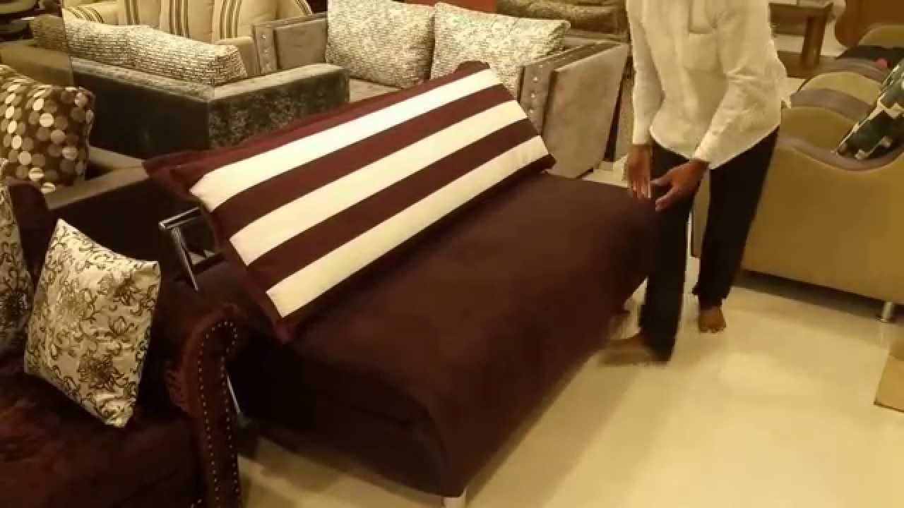 Folding Mattress Sofa Cum Bed In Mumbai | Call: 9820571844   YouTube
