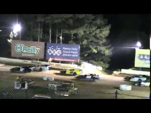 Crowley's Ridge Raceway 6/14/2014 #21 Chris Sims Modified Feature Race