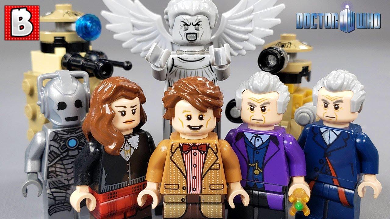 Every LEGO Doctor Who Minifigure Ever Made!!!