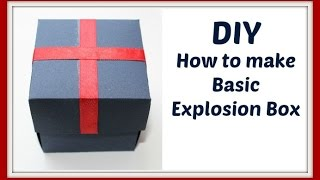 DIY|How to make Basic Explosion box |easy and fast|just 5 minutes