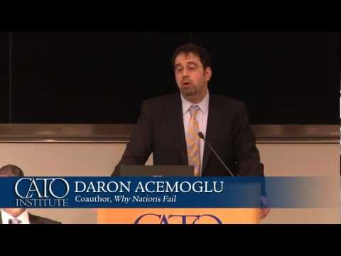 """Daron Acemoglu discusses """"Why Nations Fail: The Origins of Power, Prosperity, and Poverty"""""""
