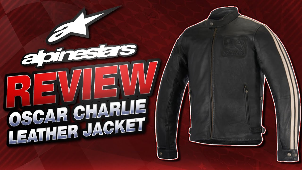 Alpinestars Jacket Leather >> 2016 Alpinestars Charlie Leather Jacket Review from ...