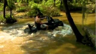 По воде на квадроцикле часть 2.flv