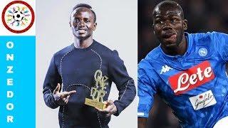 Résultats des votes pour le Onze d'Or, Sadio Mané et Koulibaly dans l'équipe Type sans Mohamed Salah